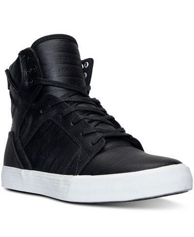 supra men's skytop hightop casual sneakers from finish