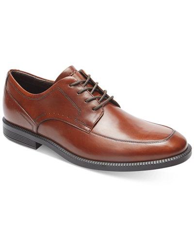 Rockport Men's Dressports Business Apron-Toe Oxfords