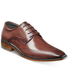 Stacy Adams Men's Kallan Plain-Toe Lace-Up Oxfords