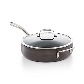 Belgique Hard-Anodized 5-Qt. Saute Pan with Lid