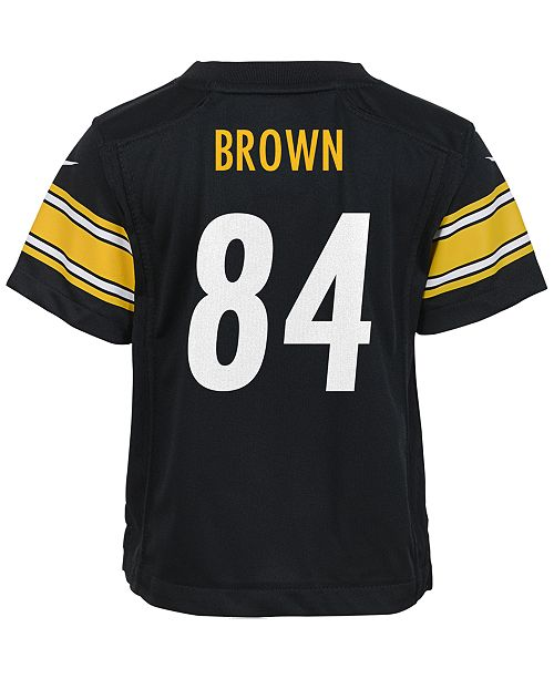 premium selection c982b ec6c8 Babies' Antonio Brown Pittsburgh Steelers Game Jersey