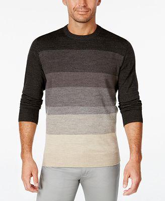 Tricots St Raphael Men's Colorblocked Crew-Neck Sweater