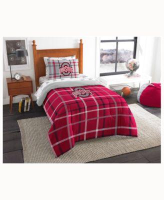 Ohio State Buckeyes 5Piece Twin Bed Set Sports Fan Shop By Lids