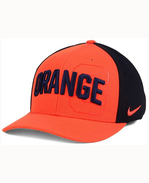 aba6d30b Nike Syracuse Orange Classic 99 Swoosh Flex Cap - Sports Fan Shop By ...