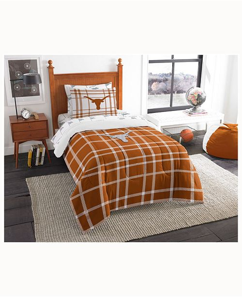 Northwest Company Texas Longhorns 5-Piece Twin Bed Set