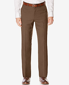 Perry Ellis Portfolio Classic-Fit Non-Iron Performance Nailhead Dress Pants