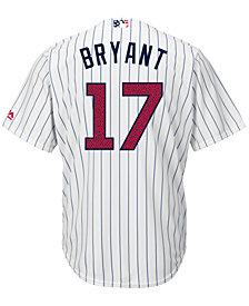 Majestic Men's Kris Bryant Chicago Cubs 2016 Stars & Stripes Cool Base Jersey