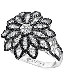 Le Vian Red Carpet® Diamond Flower Ring (1-1/3 ct. t.w.) in 14k White Gold