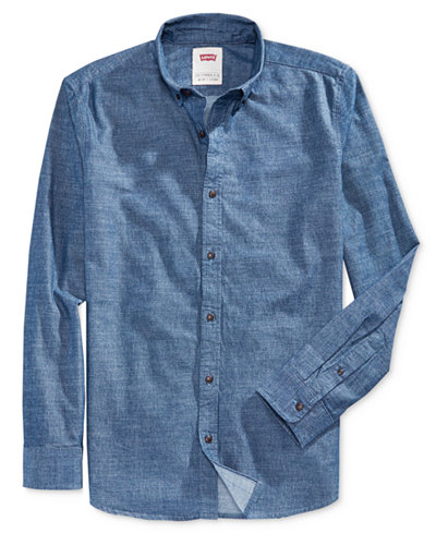 Levi's® Men's Franklin Long-Sleeve Shirt - Casual Button-Down ...