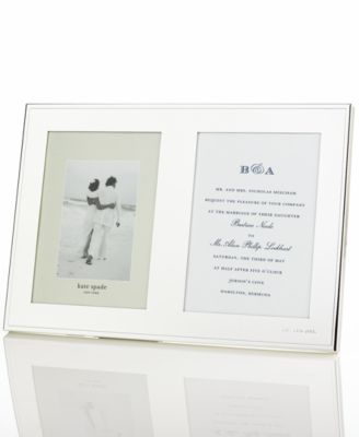 New York Darling Point Double Invitation Frame