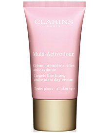 Get More! Receive a FREE Trial Size Multi-Active Day SPF20 with $99 Clarins Purchase!