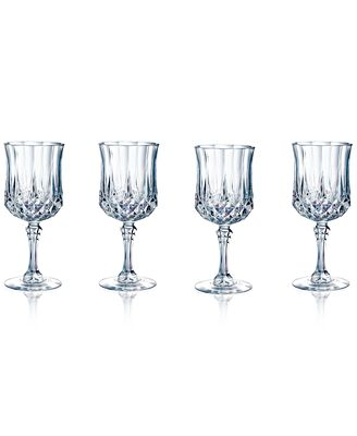 Longchamp Set of 4 Wine Glasses