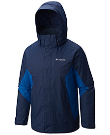 Columbia Big and Tall Men's Eager Air 3-in-1 Omni-Shield Jacket