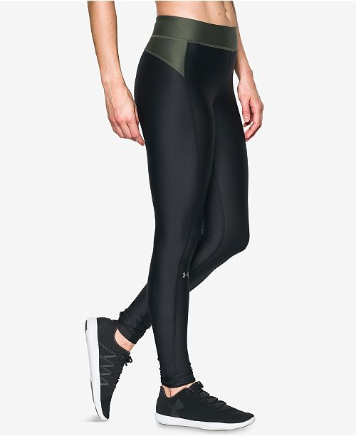 06f0116583f30 Under Armour HeatGear® Leggings & Reviews - Pants & Capris ...