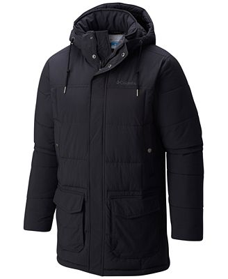 Columbia Men's Short Sands Thermal Coil Parka - Coats & Jackets ...