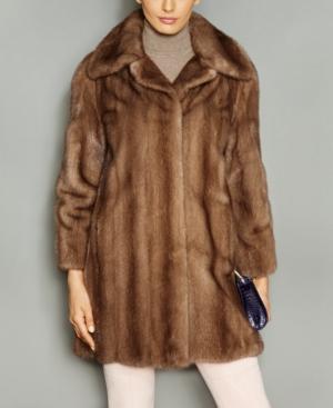 1950s Jackets, Coats, Bolero | Swing, Pin Up, Rockabilly The Fur Vault Wing-Collar Mink Fur Coat $4,197.00 AT vintagedancer.com