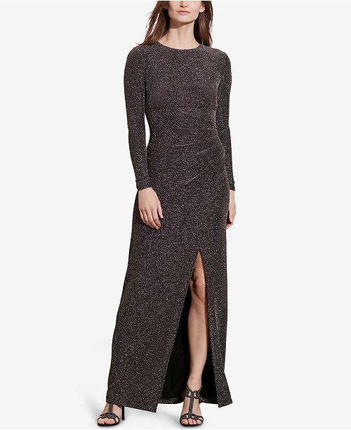 Lauren Ralph Lauren Metallic-Knit Dress