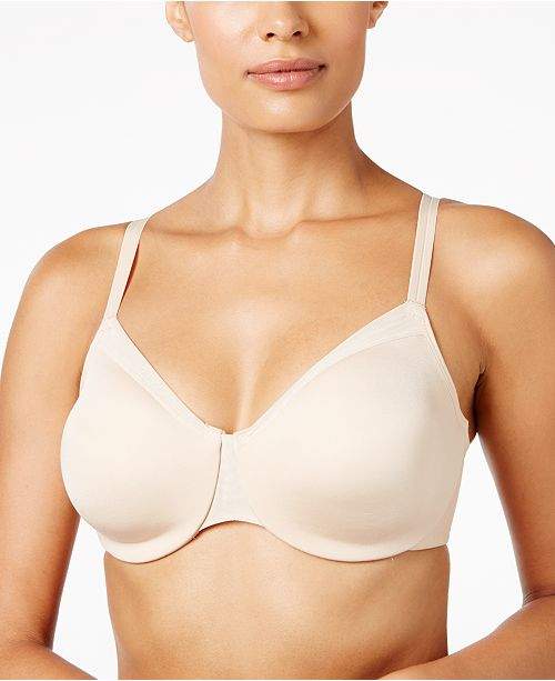 bf142c9ab6f82 Wacoal Classic Reinvention Full-Figure Spacer Bra 855263   Reviews