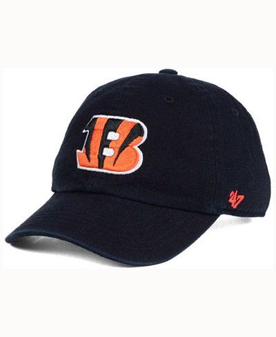 '47 Brand Kids' Cincinnati Bengals CLEAN UP Cap
