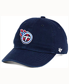 '47 Brand Kids' Tennessee Titans CLEAN UP Cap