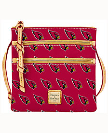 Dooney & Bourke Arizona Cardinals Triple-Zip Crossbody Bag
