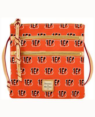 Cincinnati Bengals Triple-Zip Crossbody Bag