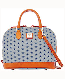 Dooney & Bourke Zip Zip Satchel NFL Collection