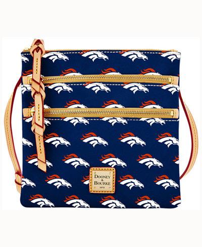 Dooney & Bourke Denver Broncos Triple-Zip Crossbody Bag