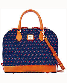 Dooney & Bourke Houston Texans Zip Zip Satchel