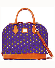 Dooney & Bourke Minnesota Vikings Zip Zip Satchel