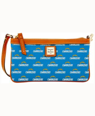 Los Angeles Chargers Large Slim Wristlet
