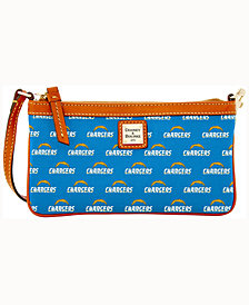 Dooney & Bourke Los Angeles Chargers Large Slim Wristlet