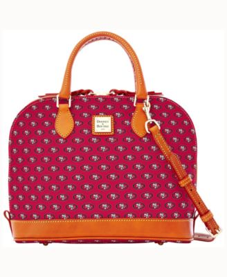 San Francisco 49ers Zip Zip Satchel