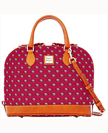 Dooney & Bourke San Francisco 49ers Zip Zip Satchel