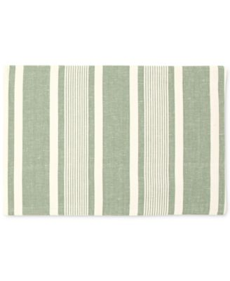 Mara Colorwave Green Collection 4-Pc. Placemat Set