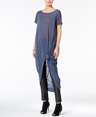 chelsea sky High-Low Knot Tunic, Created for Macy's