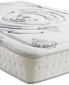 "Sleep Trends Rubi Twin 10.5"" Wrapped Coil Hybrid Firm Pillow Top Mattress"