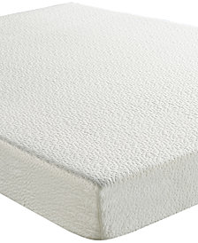 "Sleep Trends Ladan 6"" Cool Gel Memory Foam Firm Mattress, Quick Ship, Mattress in a Box- Twin"