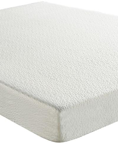 Sleep Trends Ladan Twin 6 Cool Gel Memory Foam Firm Tight Top Mattress, Quick Ship, Mattress in a Box