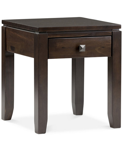 Verona End Table, Quick Ship