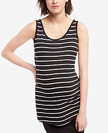 BumpStart Maternity Striped Tank Top, Two-Pack
