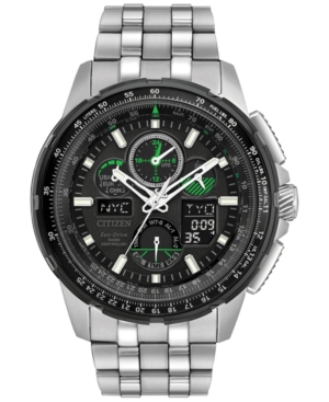 Citizen Eco-Drive Men's Analog-Digital Chronograph Skyhawk A