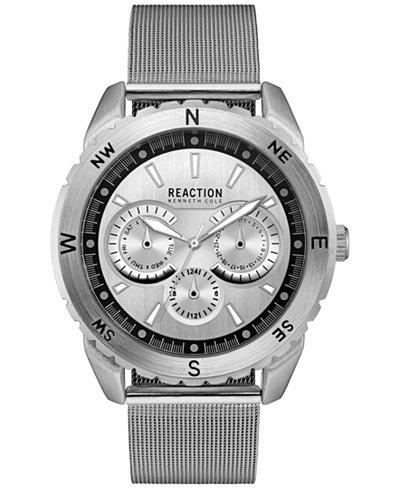 Kenneth Cole Reaction Men's Stainless Steel Mesh Bracelet Watch 46x53mm 10030937