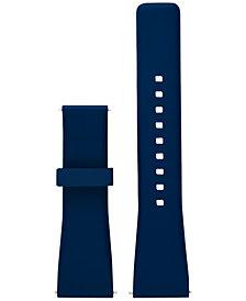 Michael Kors Access Women's Bradshaw Blue Silicone Smartwatch Strap MKT9002