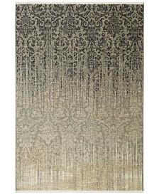 "Karastan Titanium Tiberio Gray 3'6"" x 5'6"" Area Rug"