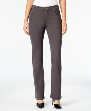 Lee Platinum Petite Nellie Barely Bootcut Jeans