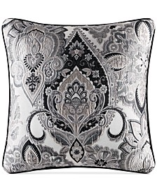 "J. Queen New York Guiliana 20"" Square Decorative Pillow"
