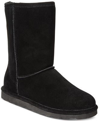BEARPAW Women's Elle Short Cold-Weather Waterproof Booties