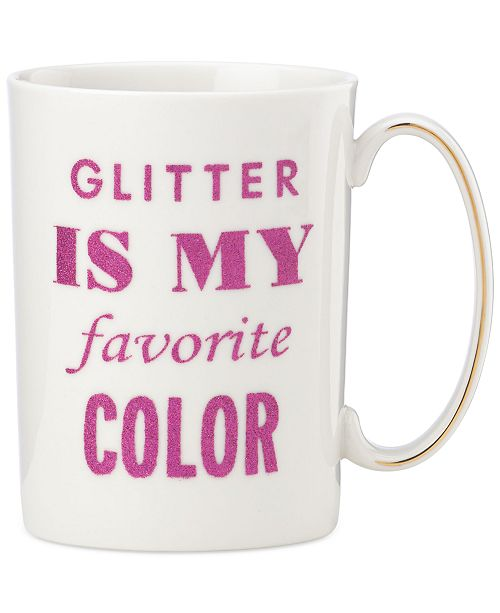 kate spade new york Simply Sparkling Mug