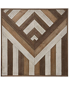 Square Pieced Wood Wall Art